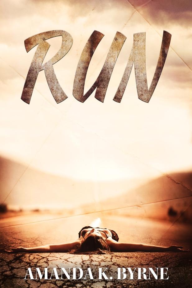 RUN by AmandaKByrne eCover created by RaineyCloud9
