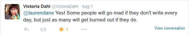 Burnout tweet 2