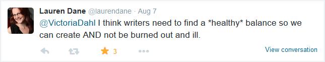 Burnout tweet 3