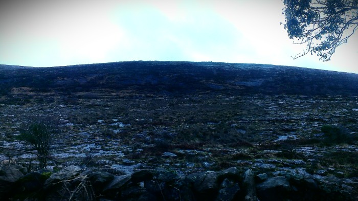 Cliffside in the Burren, Ireland